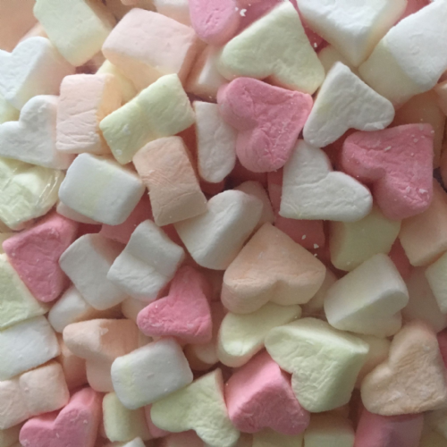 Sweetzone Mini Mallow Hearts 100g